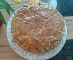 Nussschneckenkuchen (vegan)