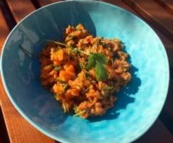 Karottensalat orientalisch