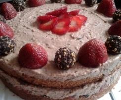 Erdbeer-Giotto-Torte