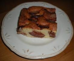 Blechkuchen mit Obst a la Mama