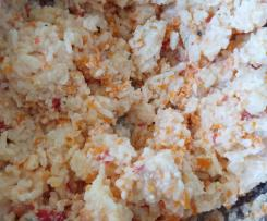 Karotten-Paprika Reis