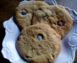 Cookies mit Schokolinsen