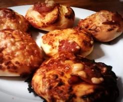 Piccolinos - Variation von Pizza Chicago Style