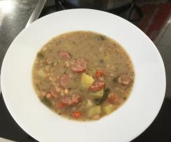 Weisse Bohnensuppe