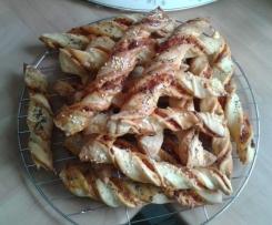 Pizzastangen lecker & einfach