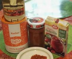Aprikosenmarmelade stark zuckerreduziert