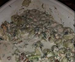Gruken-Walnuss-Salat