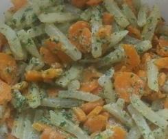 Kohlrabi-Möhrengemüse (fast lowfett 30)