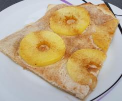 Apfel-Zimt Flammkuchen