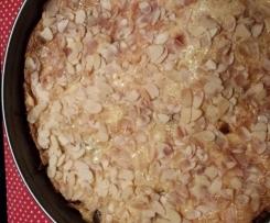 Apfelkuchen mit Schmand