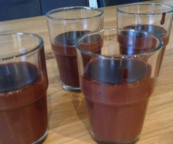 Schokopudding mit Kakao
