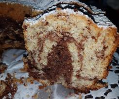 Nuss-Marmor-Kuchen - super lecker - saftig