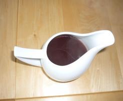 Rotweinsauce für Feinschmecker