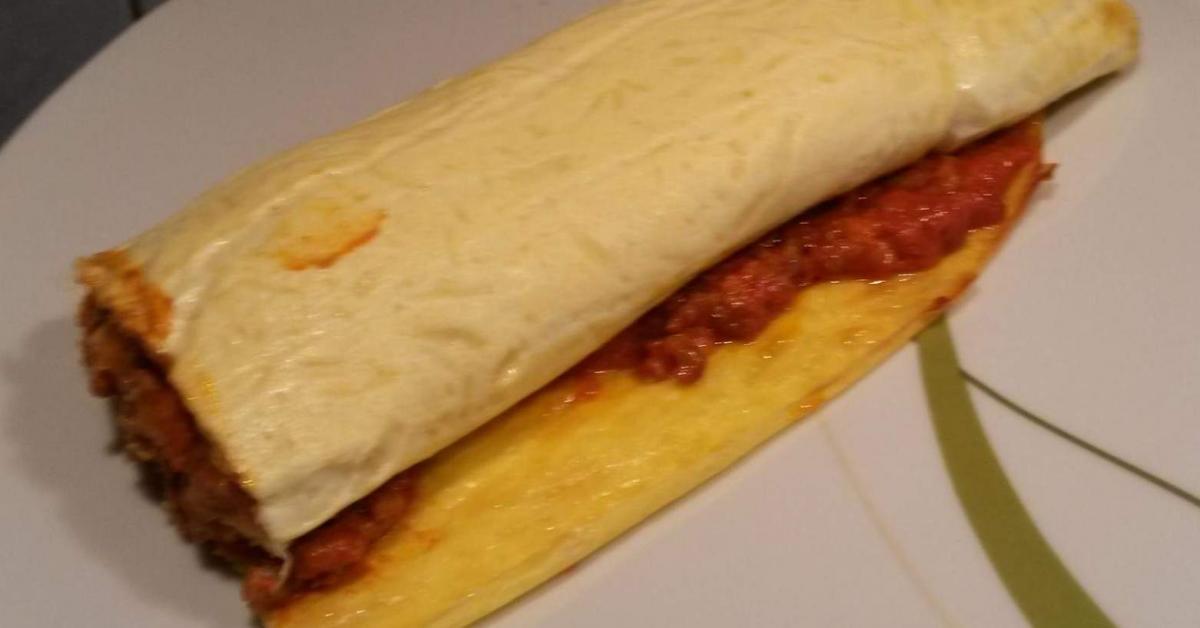 hackfleisch rolle low carb gerollte lasagne von sarahxs. Black Bedroom Furniture Sets. Home Design Ideas