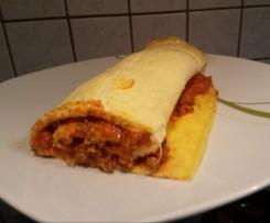 Hackfleisch Rolle / Low Carb gerollte Lasagne