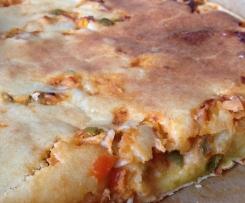 """Salziger Hähnchenkuchen (brasilianische """"Empanada"""")"""