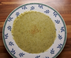 Variation Broccolicremesuppe