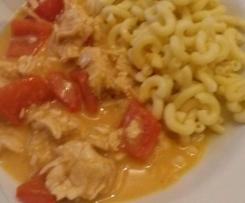 Curry Geschnetzeltes mit Paprika