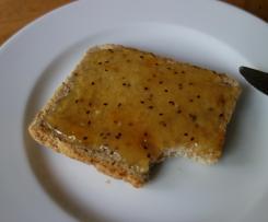 Apfel-Kiwi-Mirabellen-Marmelade