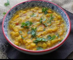 Zucchini Linsen Curry