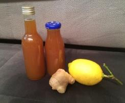 Variation Ingwer-Zitronen-Sirup