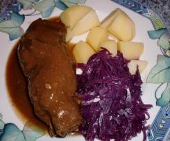 Rotkohl, Blaukraut, selbst gemacht schmeckt am BESTEN
