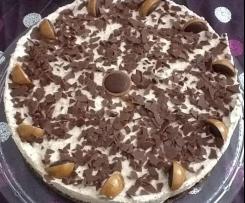 Variation von Toffifee-Torte