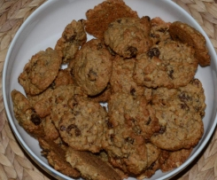 Rosinen-Nuss-Haferflocken-Kekse