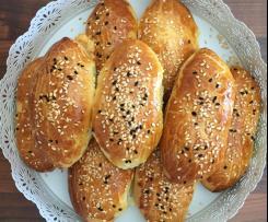Super softe türkische Brötchen / Pamuk Poğaça