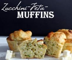 Zucchini-Feta-Muffins