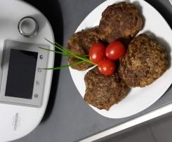 Hackfleisch-Pilz-Bratlinge