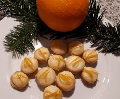Orangenknöpfe Plätzchen
