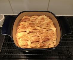 Apfelkuchen, saftig f. kleines Blech oder Bäker