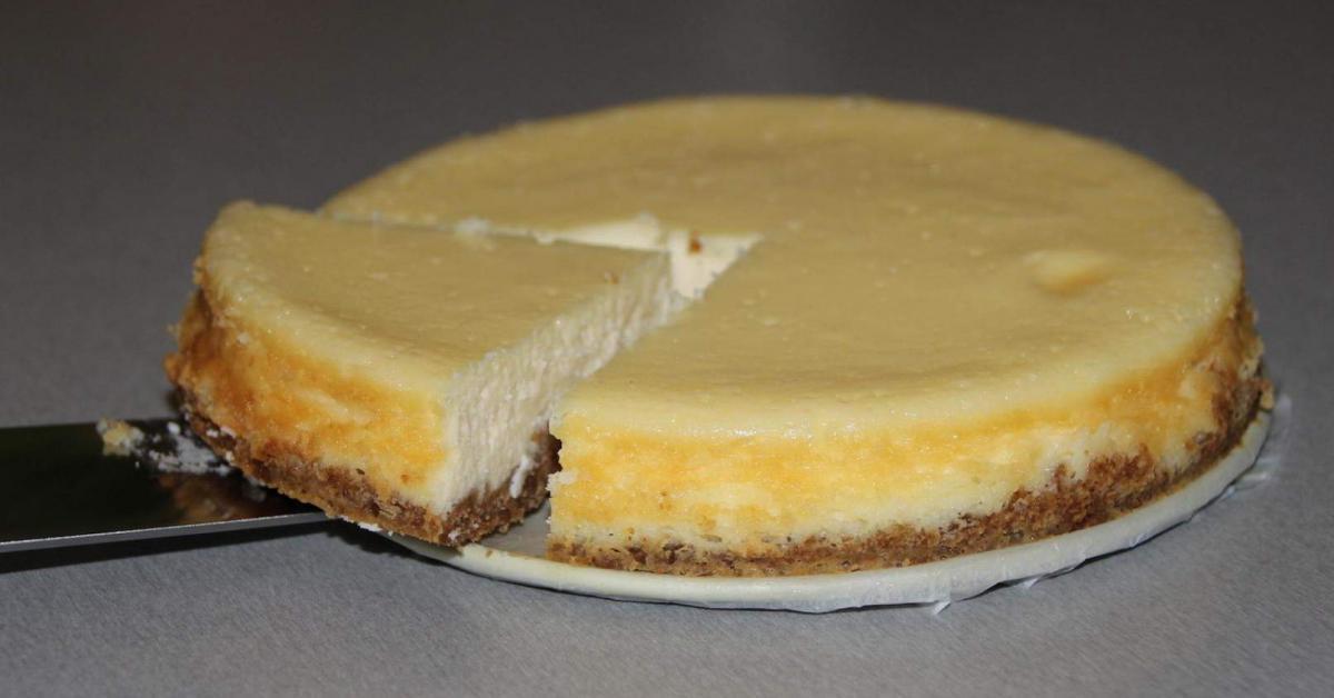 New York Cheese Cake Amerikanischer Kasekuchen Von Thermitrumm