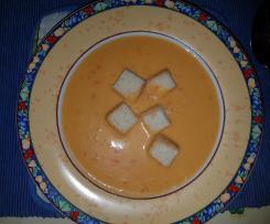 Paprika-Cremesuppe