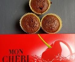 Super saftige Mon Cheri Muffins