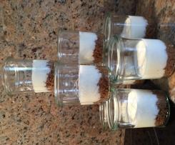 Limetten Pie im Glas