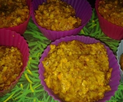 Haselnuss-Möhren Muffins