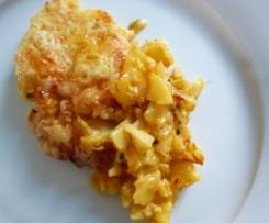 Kartoffelgratin mit Gemüse