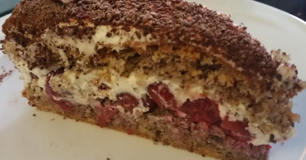 Sahne Nuss Torte A La Oma Fine Von Carker Ein Thermomix Rezept