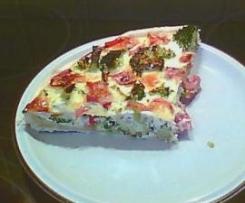 Brokkoli-Schinken-Quiche