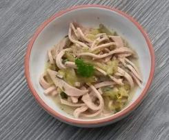 Schwäbischer Wurstsalat (würzig)