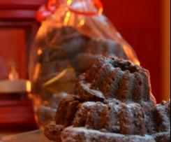 weihnachtliche Miniguglhupfe