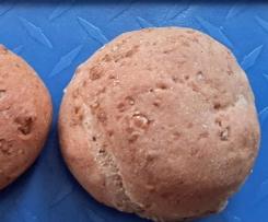 Buttermilch -Roggenbrötchen
