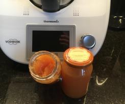 Orangen Apfel Karotten Marmelade