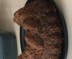 Muddis Bester Marmorkuchen als Kuchen mit flüssiger Schocki