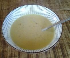 Fischsuppe mit Gemüse und Curry