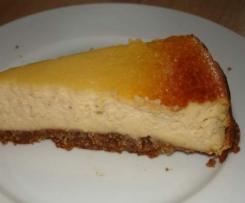 Ricotta-Cheesecake mit Honig