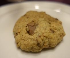 Gourmet Cookies mit Tahini und Fleur de Sel