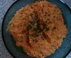erfrischender Brotaufstrich mit Karotten(T****r-Rezept)